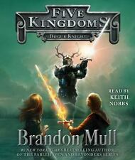 ROGUE KNIGHT (FIVE KINGDOMS) unabridged audio book CD by BRANDON MULL Brand New!