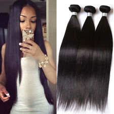 4Bundles Unprocessed Virgin Peruvian Straight Hair Extension Human Weave lot