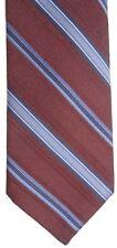 "Sears Men's Vintage Polyester Tie 55"" X 3.25"" Multi-Color American Striped"