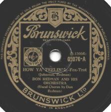 "78er Jazz Depression Era Don Redman Orchestra ""How Ya' Feelin'?"""