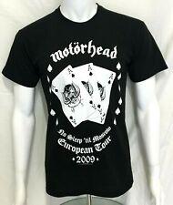 More details for motorhead - moscow european tour 2009 - official t-shirt (s) og genuine merch.