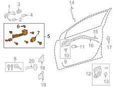 For Toyota Genuine Exterior Door Handle Base Front Left 6920202090