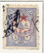 Turkey 1916 Star and Crescent Optd Issue Fine Used 2p. 064665