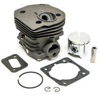 Hot 44mm Cylinder Piston Ring Kit For Husqvarna 350 346 351 353 Chainsaw Set
