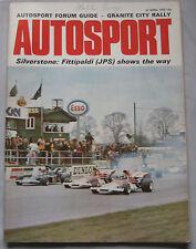 AUTOSPORT magazine 27/4/1972 featuring Simca 1100 road test