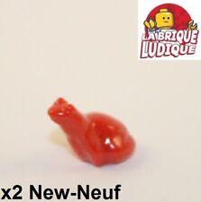 Lego parte 33320 Rojo ranas X2