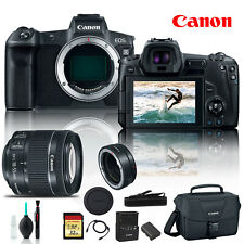 Canon EOS R Mirrorless Digital Camera 3075C002 +Canon EF Mount Adapter, Canon EF