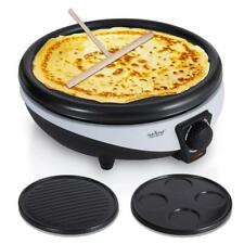NutriChef Crepe Maker - Electric Griddle Cooktop (PKCYM15)