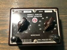Cornell Dubilier Decade Capacitor CDB5 Substitution Box