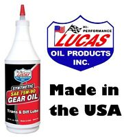 Lucas Synthetic Gear & Transmission Oil SAE 75W-90 (946ml) diffs differential