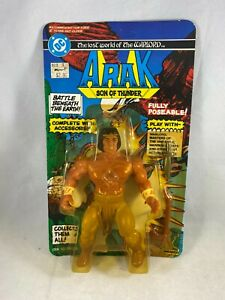 REMCO 1982 ARAK LOST WORLD OF THE WARLORD ACTION FIGURE SEALED/ UNPUNCHED CARD