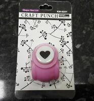 1 x Craft Hole Punch for Paper - Heart, Star, Tulip, Bell