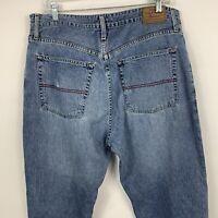 Tommy Hilfiger Freedom Fit Medium Wash Blue Denim Jeans Men's Size 36 X 32