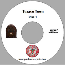TEXACO TOWN (78 SHOWS) OLD TIME RADIO MP3 3 CD'S
