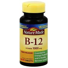 Nature Made Vitamin B-12 Timed Release Tablets, 1000 mcg 75 ea