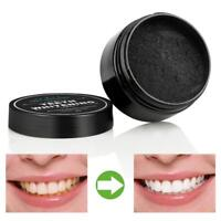 Organic Carbon Charcoal Activated Whitening Tooth Teeth Powder Natural Whites JS