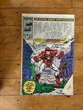 Marvel Marvel Age #55 The Official Marvel News Magazine! Iron Man