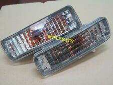 Front Crystal Bumper Signal Lights For Toyota Mighty X RN85 LN85 RN90 1989-1995