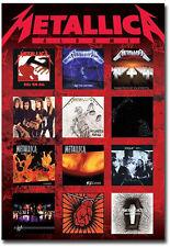 "Metallica Covers Album Fridge Toolbox Magnet Size 2.5"" x 3.5"""