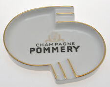 vintage 1960 Pommery porcelain ashtray exc++++