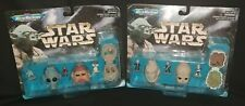 *NEW* 1996 Galoob Micro Machines Star Wars Collection II 2 & IV 4 Figure Heads