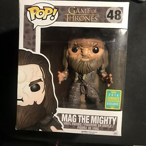 Funko Pop MAG THE MIGHTY Game of Thrones Vinyl Figure SDCC 2016 48 Rare VAULTED