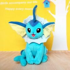 "8"" Pokemon Eevee Vaporeon plush toy Figure Collectible Tomy Pokeman"