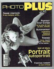 Photo Plus N° 4 Octobre 1999 : Noir Et Blanc Portrait Autoportrait