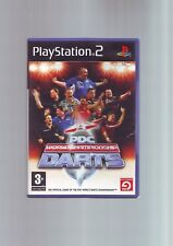 PDC World Championship Darts-PLAYSTATION PS2 GAME-ORIGINAL & Complet-Très bon état