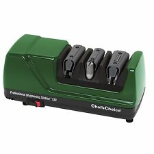 NEW CHEF'S CHOICE 130 GREEN ELECTRIC KNIFE SHARPENER  FOR ALL KNIVES SALE