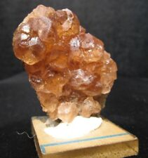 Hessonite Orange Garnet Crystals, Classic Site Jeffrey Mine, Canada