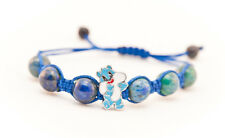 Shambala/braclet for kids made from Hrizokol, adjustable in length from 13 –18cm