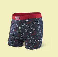 SAXX VIBE Men's Boxer Underwear | MOVEMBER | LARGE 36-38 | SXBM35 GOM
