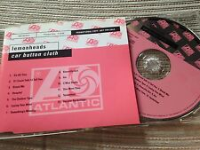 LEMONHEADS - CAR BUTTON CLOTH CD GERMAN PROMO INDIE ROCK ATLANTIC SLEEVE