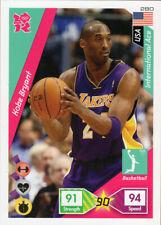 PANINI ADRENALYN XL LONDON 2012 CARDS KOBE BRYANT BASE CARD - BASKETBALL