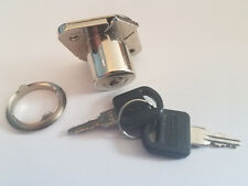 Nickle plated Deadbolt Drawer cabinet Lock all keyed the same