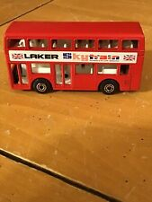 1981 Matchbox Lesney London Bus NO. 17 Laker Skytrain