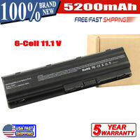 New for HP 2000-425NR Notebook Laptop Battery MU06 MU09 593553-001 6Cell 5200mAh