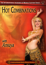 Hot Belly Dance Combinations with Ansuya - Belly Dancing DVD Video
