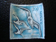 MONACO timbre yvert et tellier aerien n° 67 obl (dentele 13) (A4) stamp monaco