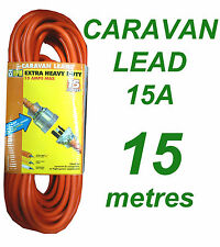 Caravan Lead 15A 15 metres Heavy Duty Power Cord