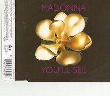 You'Ll See/Rain von Madonna / CD