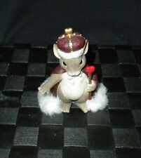 "Fitz & Floyd Charming Tails ""King of My Heart"" Valentine Figurine #84/113"
