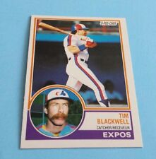 1983 O-Pee-Chee Baseball Tim Blackwell Card #57***Montreal Expos***