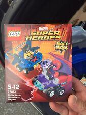 New LEGO 76073 marvel superheroes wolverine vs magneto mightymicros RETIRED