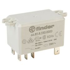Finder 66.82.8.230.0000 230V Relay DPDT AC 30A (Flange Mounting) 66.82