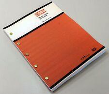 Case 1530b Uni Loader Parts Manual Catalog Skid Steer Assembly Exploded Views