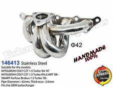 Turbo Exhaust header manifold for Mitsubishi COLT CZT RALLIART 1.5 SMART ForFour
