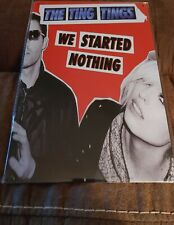 The Ting Tings Poster Style Wall Sign Metal New