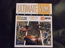 Ultimate Sim Series. Sim City 2000 Special Ed., Streets Of Sim City, Sim Copter.